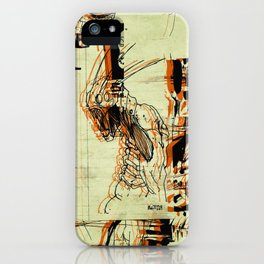 Illustration Mashup iPhone Case