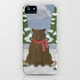 This winter I won't hibernate iPhone Case