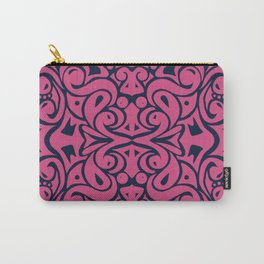 Kaleidoscope Pink&Blue Carry-All Pouch