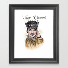 Killer Queen Framed Art Print