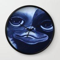 gizmo Wall Clocks featuring GIZMO by John McGlynn