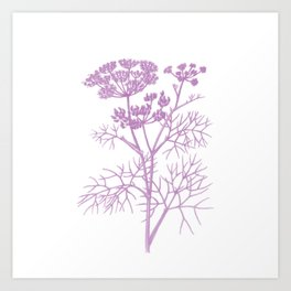 pink flower 2 . artwork Art Print