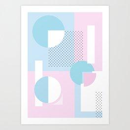 Geometric Calendar - Day 11 Art Print