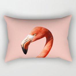 Flamingo in Pink Rectangular Pillow