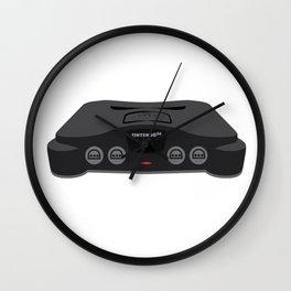 Nintendo 64 Wall Clock