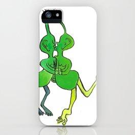 lesbian space alien seeks same iPhone Case
