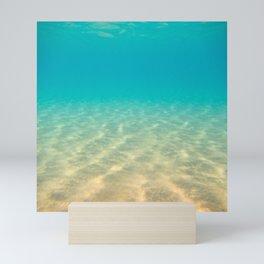 Sandy Seabed Mini Art Print