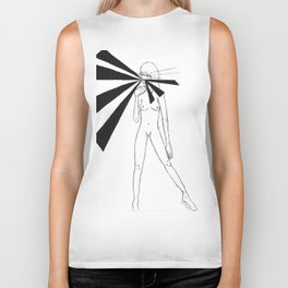 Lips by riendo Biker Tank