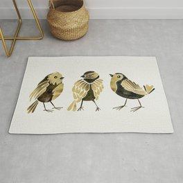 24-Karat Goldfinches Rug