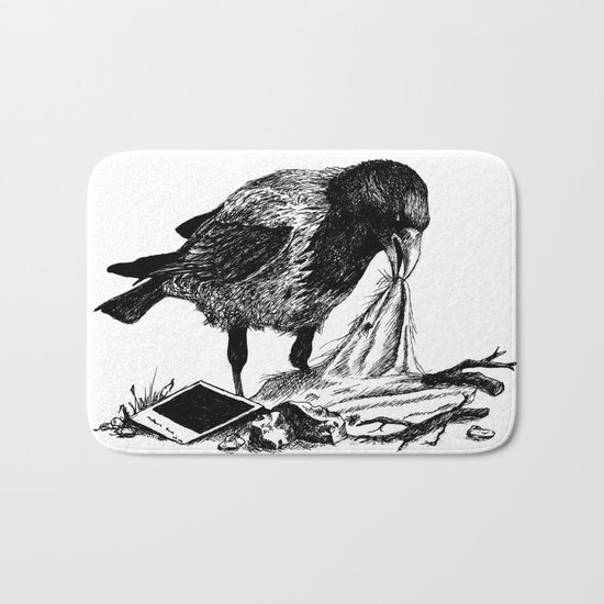 Crow's nest Bath Mat