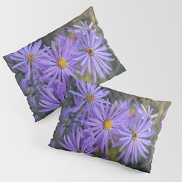 Purple Flowers Pillow Sham
