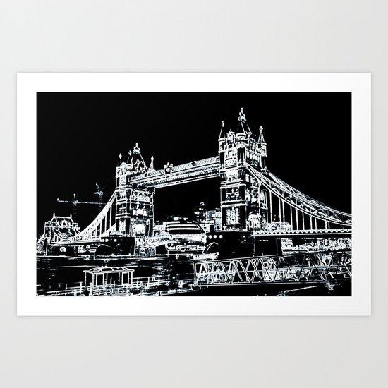 Tower Bridge Art Art Print