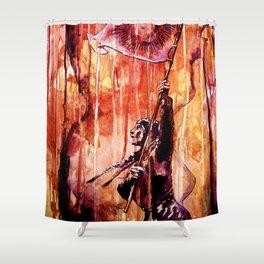 TELSE VAN KAMPEN Shower Curtain