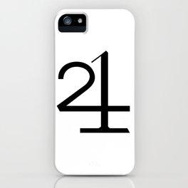 21 MOON WATER iPhone Case