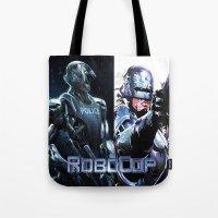 robocop Tote Bags featuring Robocop by store2u