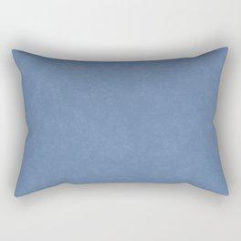 Textured Blue Rectangular Pillow