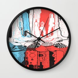 Ions Wall Clock