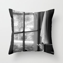 window in time Throw Pillow