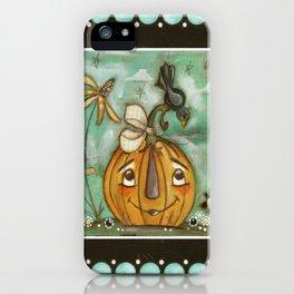 Well Hello!  Halloween Art iPhone Case