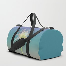 Fluffy Flower Duffle Bag
