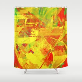 Bring Back Summer - Modern Abstract Shower Curtain