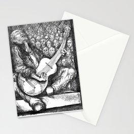 "Fine Art Print, ""Guitar Man"" Stationery Cards"