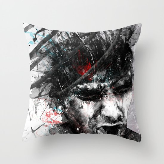 Spiral Combustion Throw Pillow
