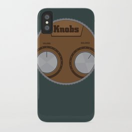 Knobs iPhone Case