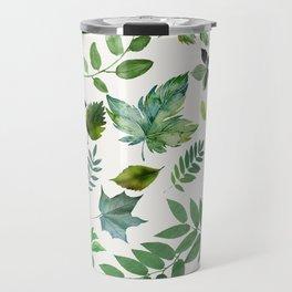 Circle of Leaves Travel Mug