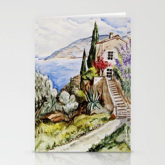 Èze Village Stationery Cards