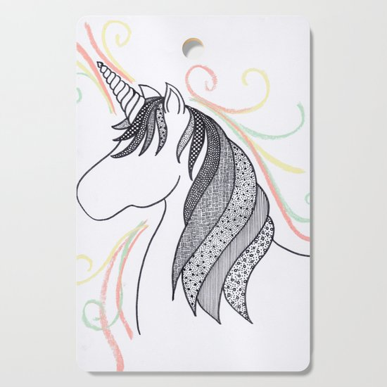 Patterned Unicorn by anschpauw