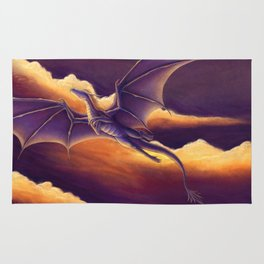 Sunset Dragon Rug