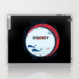 DIS Obey Whale Laptop & iPad Skin