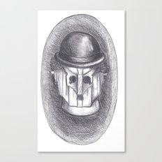cyber chaplin Canvas Print