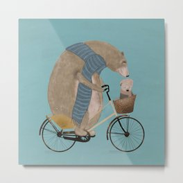 papa bear Metal Print