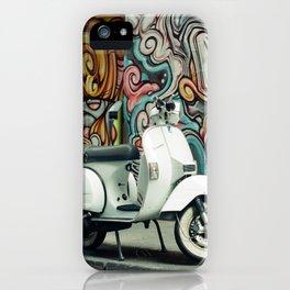 Vespa Chariot iPhone Case