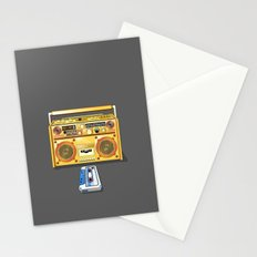 Droid Ghettoblaster Boombox Stationery Cards