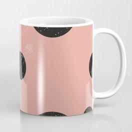 Through the window Pink #pattern Coffee Mug