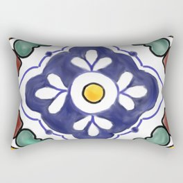 talavera tile Rectangular Pillow