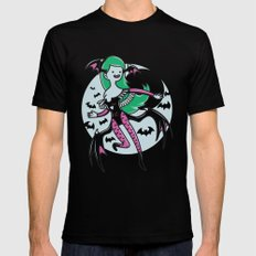 The Vampire Queen LARGE Black Mens Fitted Tee