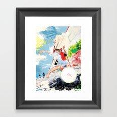 Pelada Framed Art Print