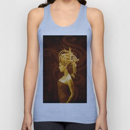 Crown Fashion Unisex Tank Top