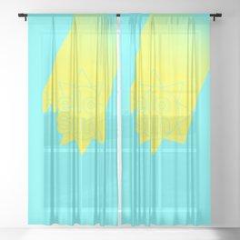 Hello, Sunshine! Sheer Curtain