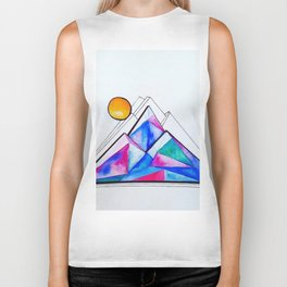 Rockies in the Abstract Biker Tank