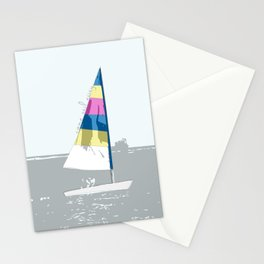 Come sail away Stationery Cards