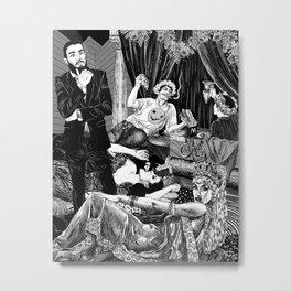 Opulence & Decadence Metal Print