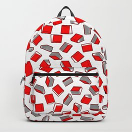 Polka Dot Books Pattern II Backpack