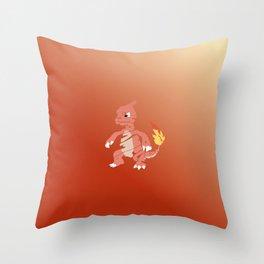 Charmeleon Throw Pillow