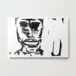 Africano uno Metal Print