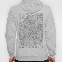 Brussels Map Line Hoody